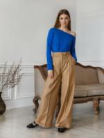 μπλούζα γυναικεία μπλε Μακρυμάνικο image
