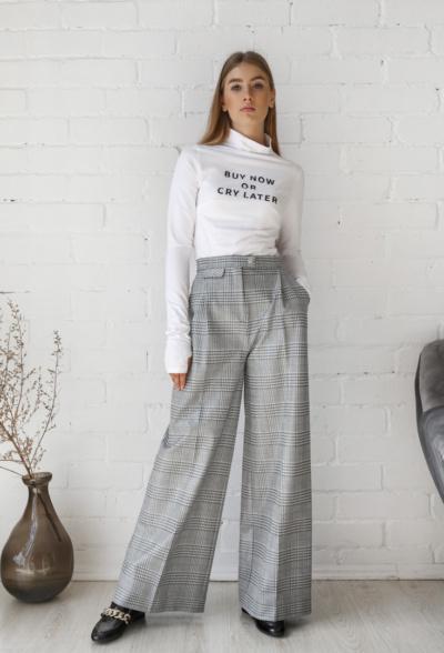 μπλούζα γυναικεία λευκό Μακρυμάνικο ζιβάγκο image