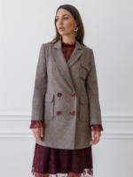 Checked Long Sleeves Jacket London