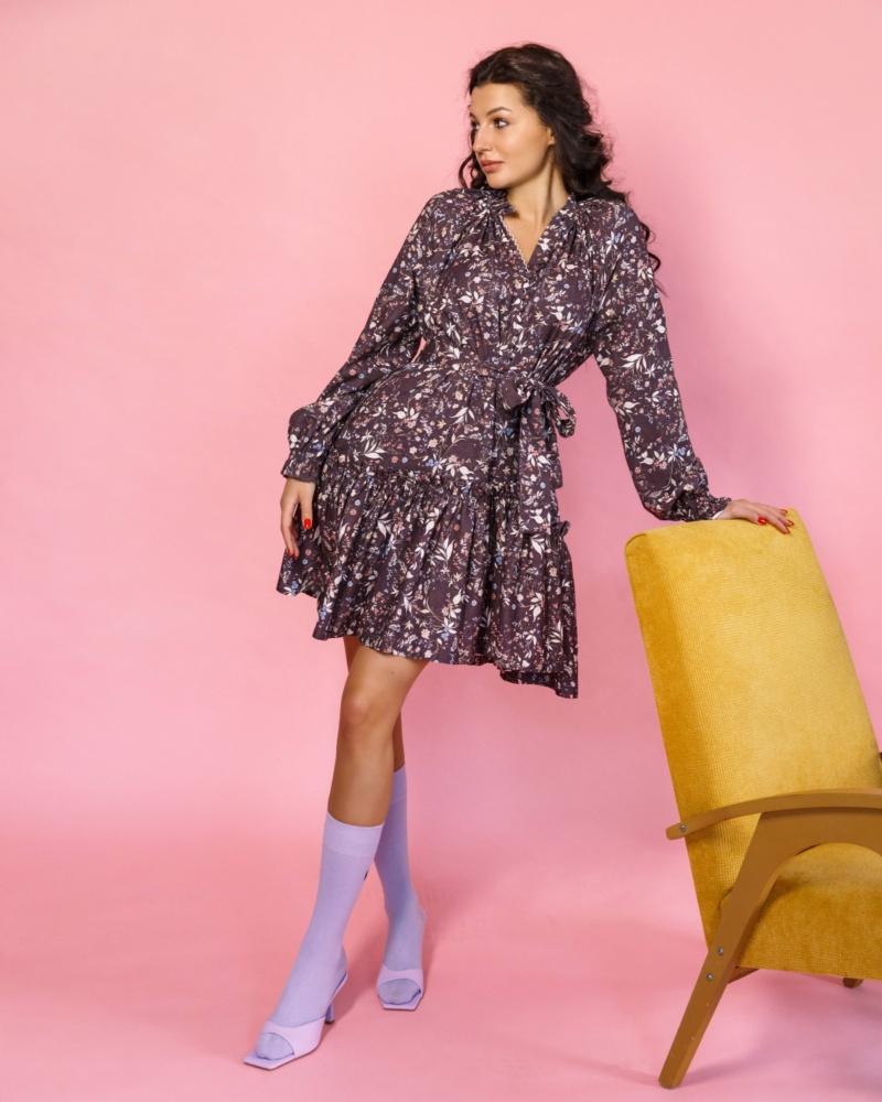 floral-print-mini-dress-purple